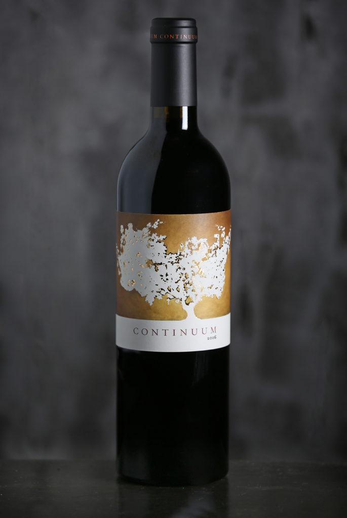 Bottle shot 2016 Continuum Estate, Wine, Fles, Wijn, Beauty shot, contentfoto