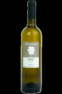 Domaine Dusseau Barrel Aged Viognier, IGP Pays d'Oc. wijnfles, productfoto.