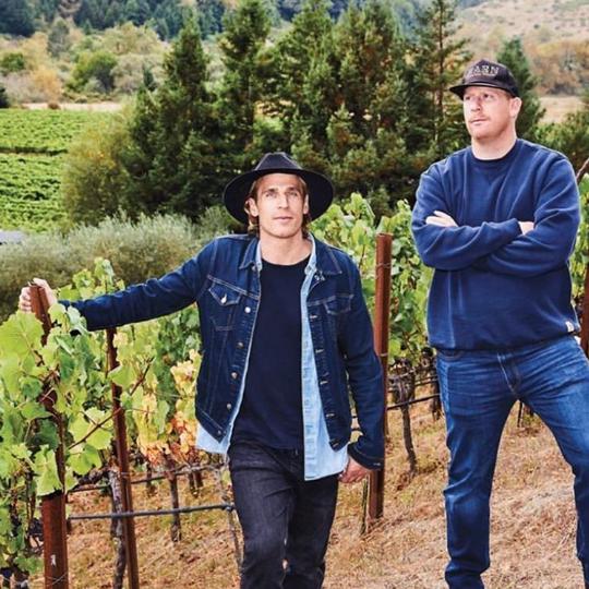 Carlo en Dante Mondavi, RAEN Winery, wijngaard, wijnmakers, wijnboer