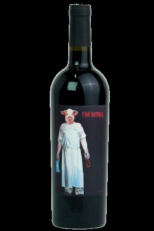 Butcher Cuvée Rot, Weingut Schwarz, Productfoto fles, wijnfles