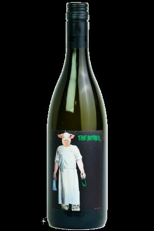 Butcher Cuvee Weiss Weingut Schwarz, Productfoto fles, wijnfles