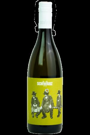 Kumarod Weiss, Weingut Schwarz, Productfoto fles, wijnfles
