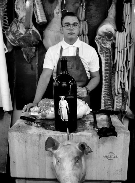 Weingut Schwarz, Butcher, Austria, Burgenland Martijn van vulpen