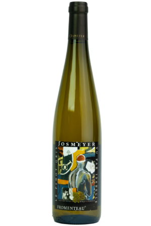Josmeyer Pinot Gris, Fromenteau. Wijnfles, Productfoto