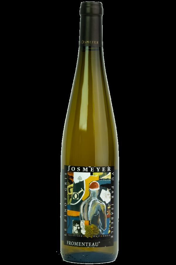 Josmeyer Pinot Gris, Fromenteau. Wijnfles, Productfoto