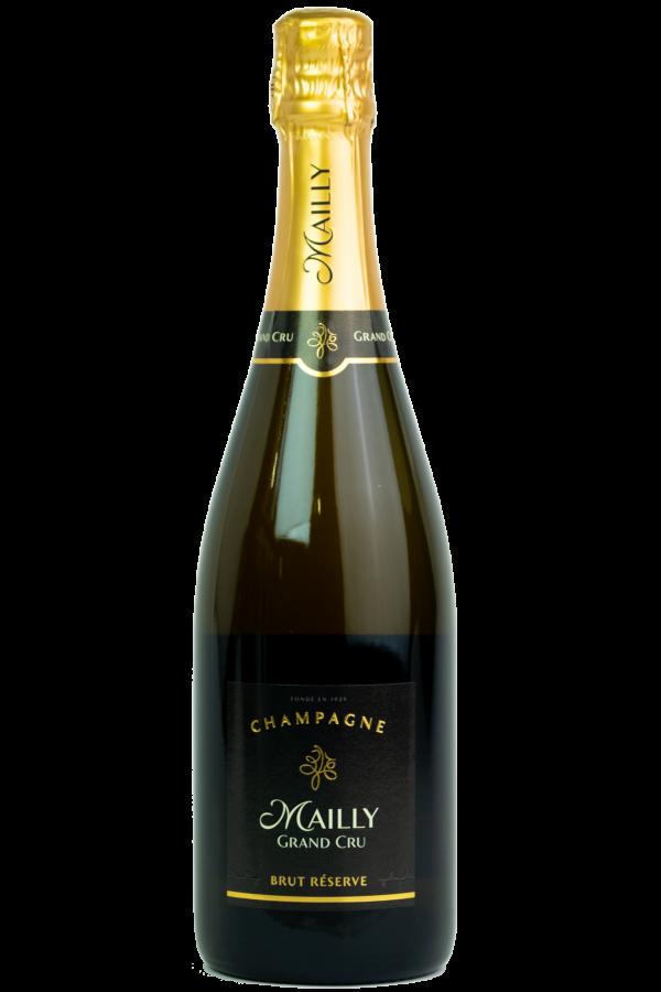 Mally Grand Cru Champagne, Flesfoto, productfoto