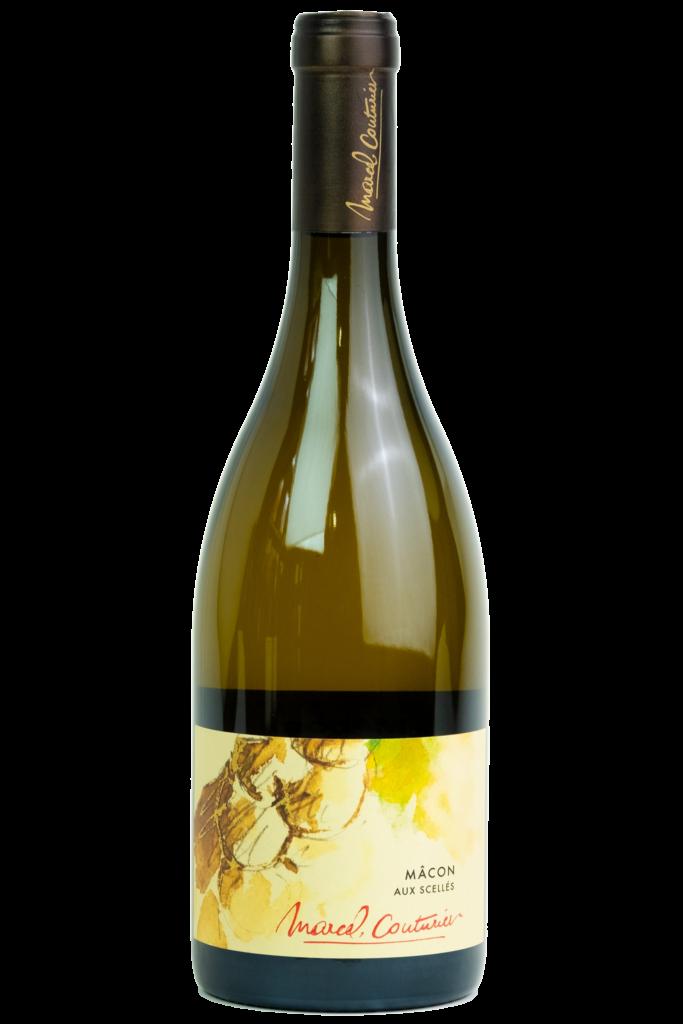 MArcel Couturier Macon, Bourgogne, fles, productfoto, wijn