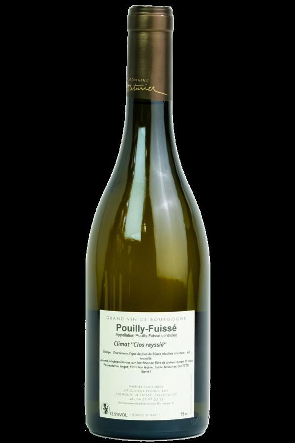 Marcel Couturier Pouilly Fuissé, Bourgogne, fles, productfoto, wijn