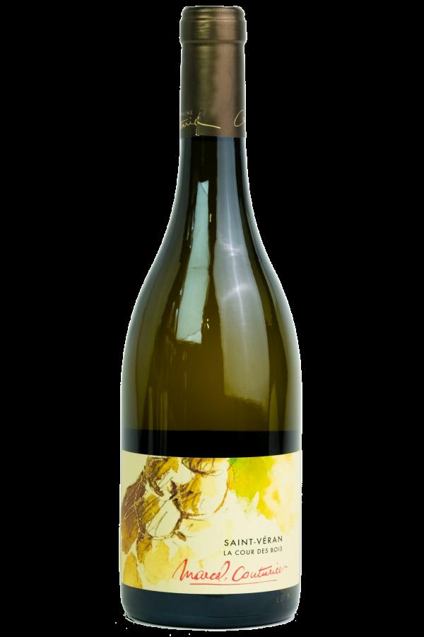 Marcel Couturier Saint-Veran, Bourgogne, fles, productfoto, wijn