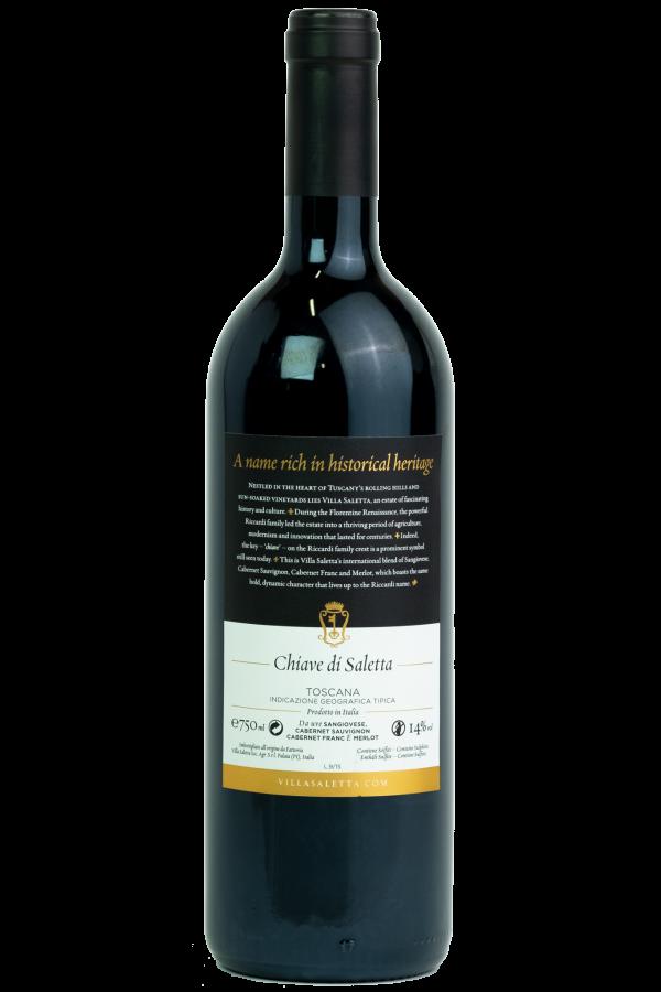 Villa Saletta Chiave, fles foto, wijnfles , productfoto