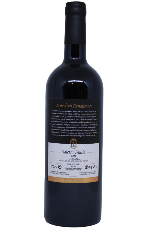 Villa Saletta Guilia, fles foto, wijnfles , productfoto