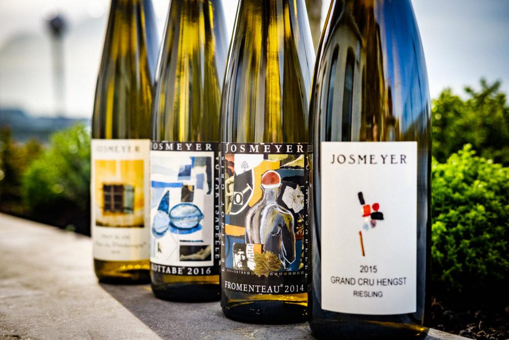 josmeyer wijnfles, productfoto
