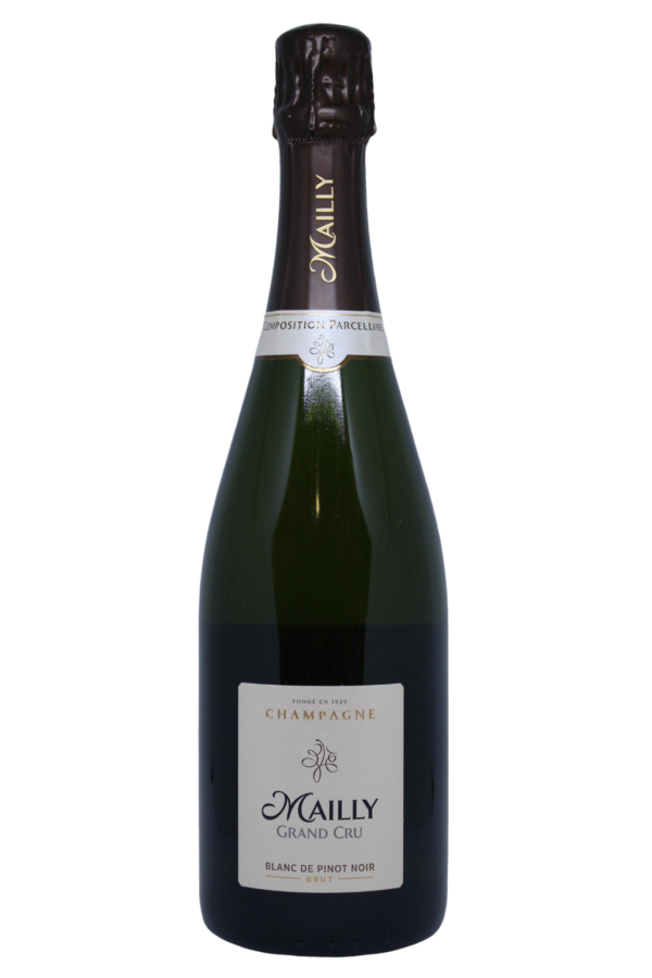 Mailly Blanc de Noir Grand Cru Champagne productfoto, wijnfles